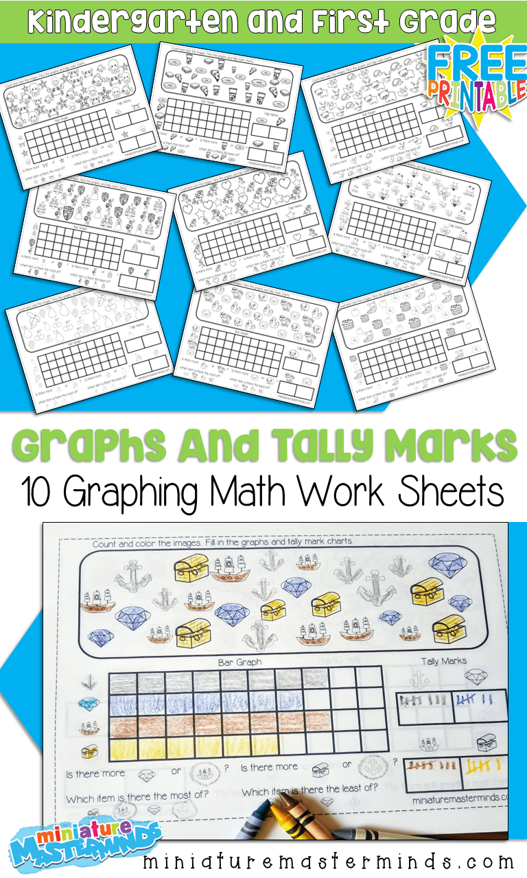 10 Free Printable Graphing Worksheets For Kindergarten and ...