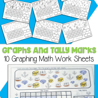 10 Free Printable Graphing Worksheets For Kindergarten and First Grade
