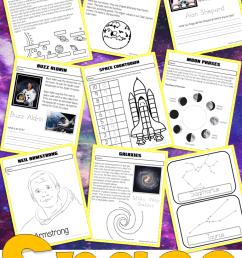 Space Kindergarten and First Grade No Prep Work Book – Miniature Masterminds [ 1280 x 768 Pixel ]
