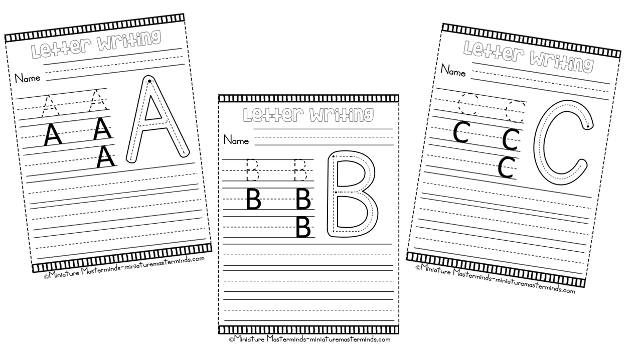 Writing Practice And Letter Formations For Left Hand Preschool And  Kindergartners – Miniature Masterminds
