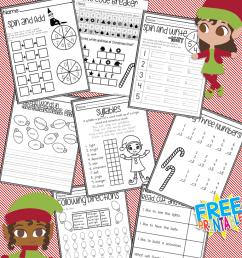 No Prep Christmas First Grade Work Book – Miniature Masterminds [ 1280 x 768 Pixel ]