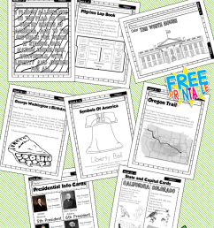 American History Work Book Ages 6 to 8 Free Printable Worksheets and  Activities – Miniature Masterminds [ 1280 x 768 Pixel ]