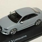 Audi Rs3 Limousine Grise 2017 Iscale 1 43