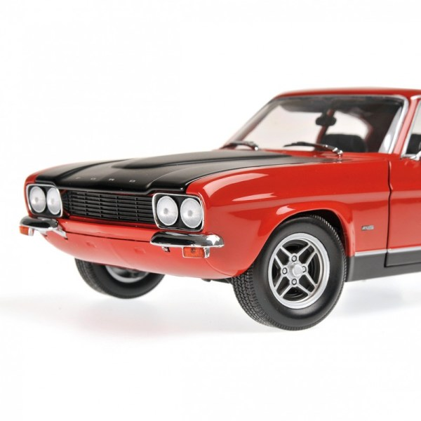 Ford Capri Rs 2600 1970 Rouge Minichamps 150089076