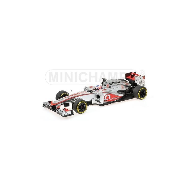 McLaren Mercedes F1 Team Showcar F1 2013 Jenson Button