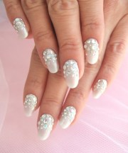 trend style multicolor nail