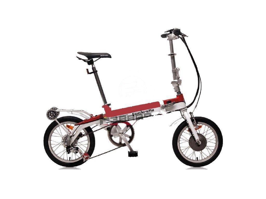 Bici Elettrica A Pedalata Assistita Lambretta Mini Folding
