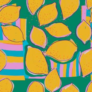 French terry - Lemon Bio