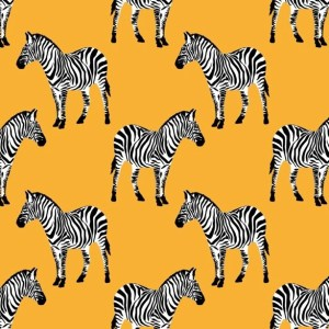 French terry - Zebra bio