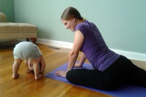 MAMMA & BABY YOGA with infant massage w/ Cathy @ Golden Well Farm