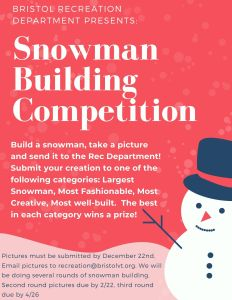 Bristol Is Having A Snowman-Building Contest