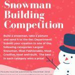 Bristol Is Having A Snowman-Building Contest