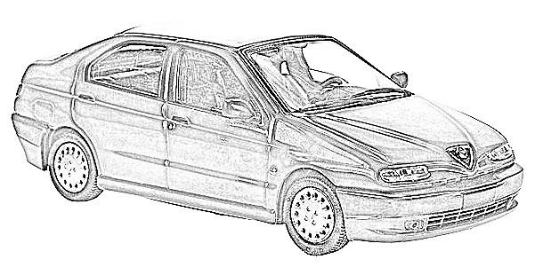 Alfa Romeo 146 coches en miniatura a escala
