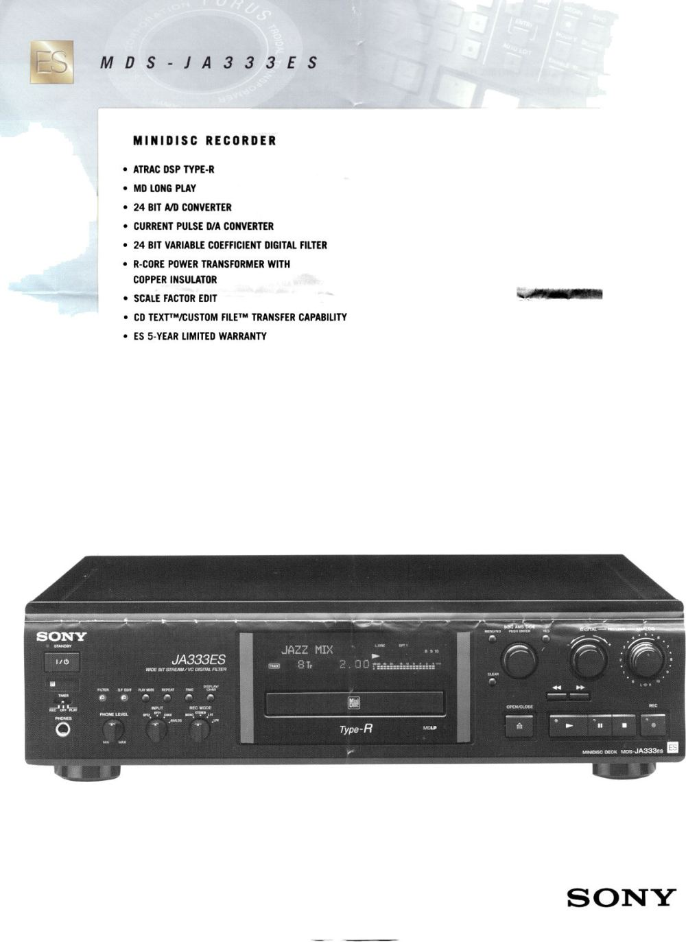 medium resolution of page2 old minidisc page news 2000 page2 sony mdx c800rec wiring harness