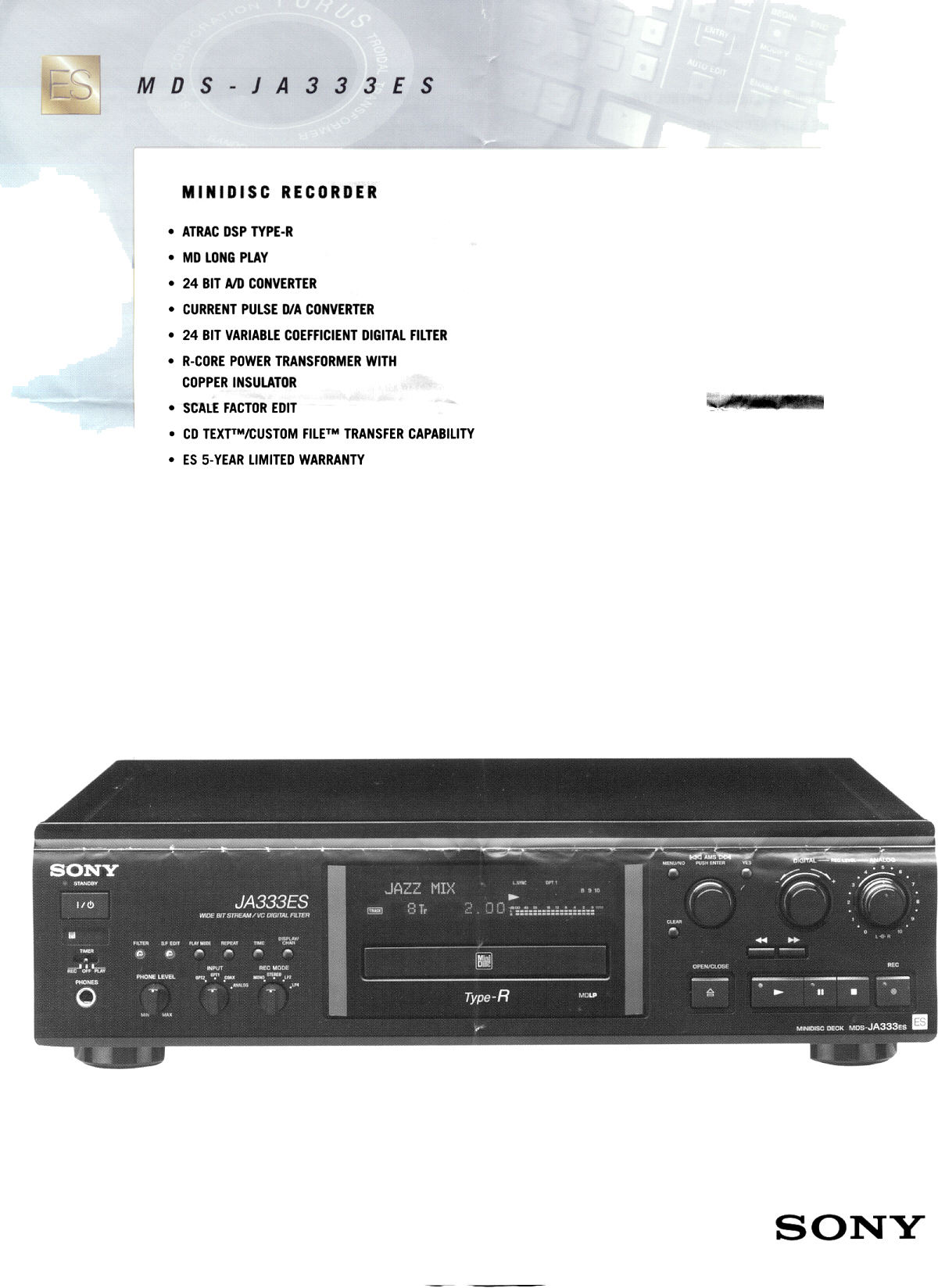 hight resolution of page2 old minidisc page news 2000 page2 sony mdx c800rec wiring harness