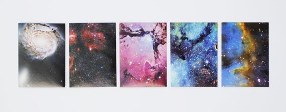 Quick craft // DIY galaxy envelopes