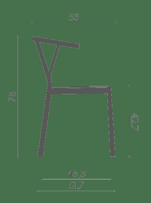 chair valerie . miniforms