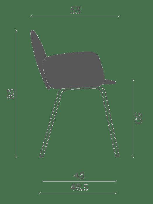 chair leda . miniforms