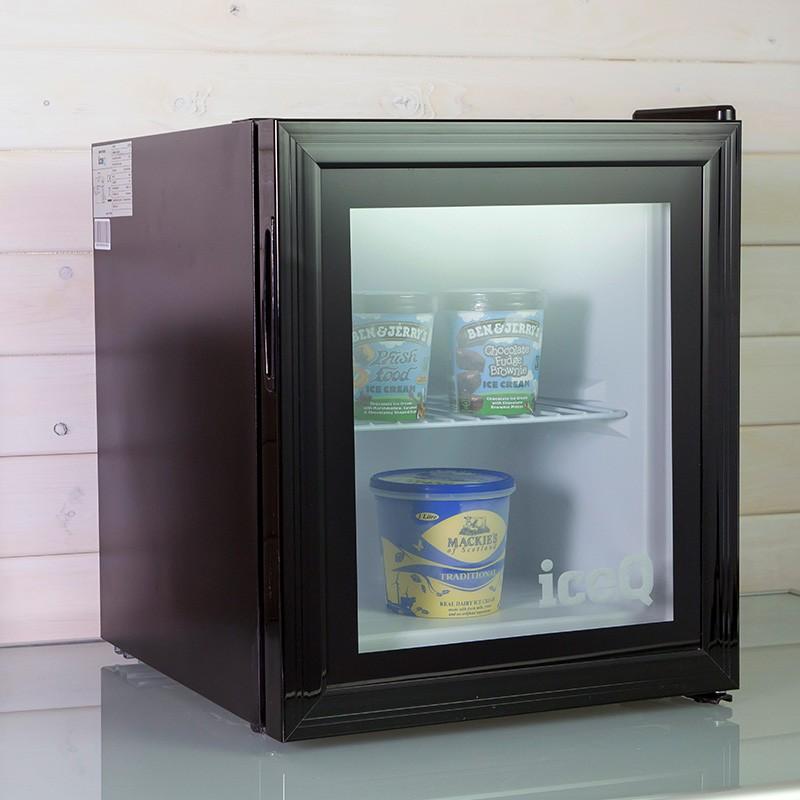 iceQ 36 Litre Counter Top Glass Door Display Mini Freezer  Table Top Freezers  Freezers  All