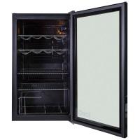 iceQ 93 Litre Under Counter Glass Door Display Fridge ...