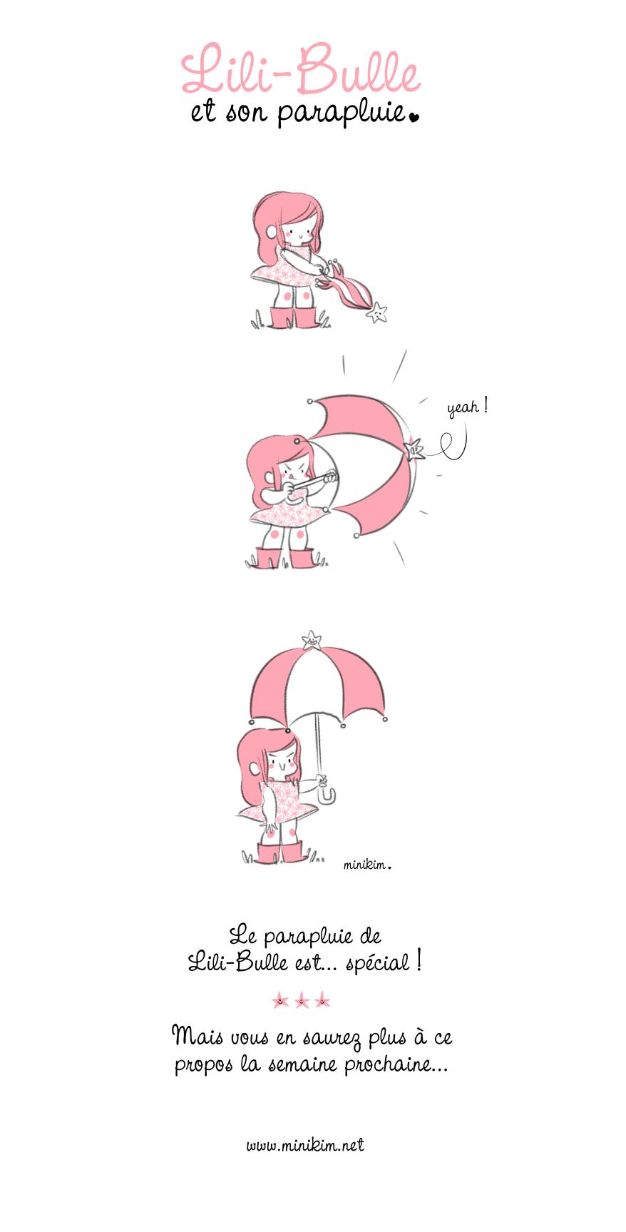 Le parapluie de Lili-Bulle est très spécial !