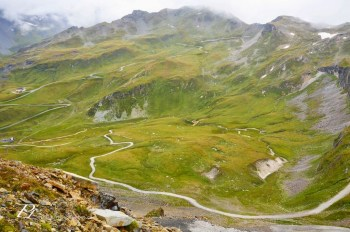 Gross glockner high alpine road in Austria