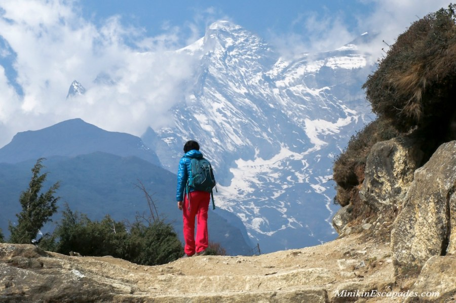Hiking around Namche Bazaar