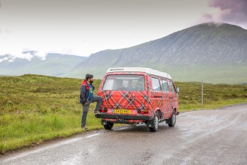 Campervan road trip in Scotland