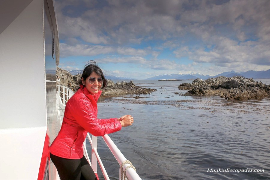 Beagle channel boat trip in Ushuaia, Argentina