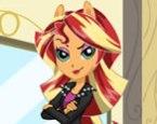 Equestria Girls Sunset Shimmer Giydirme