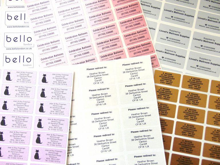 Printed Address Labels  Minilabels