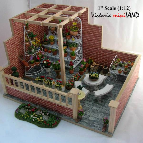 miniature barb's garden kit 1 12