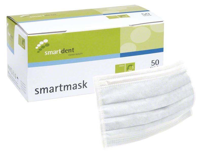 Einmal-Mundschutz 3-lagig latexfrei (Smartdent) kaufen   minilu.at