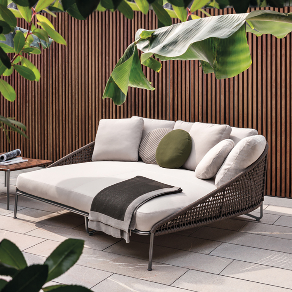 outdoor wicker sofa cushions navy blue sectional for sale aston cord loveseat | minima
