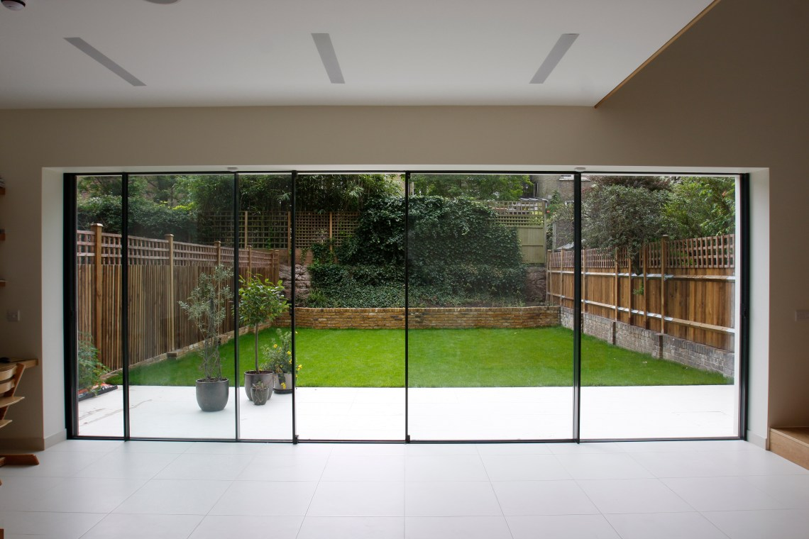 Modern patio doors bi fold doors vs sliding doors for External patio doors