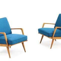 Cane Easy Chair Rawlings Baseball Pair Of 1950s Eugen Schmidt Beechwood And Chairs