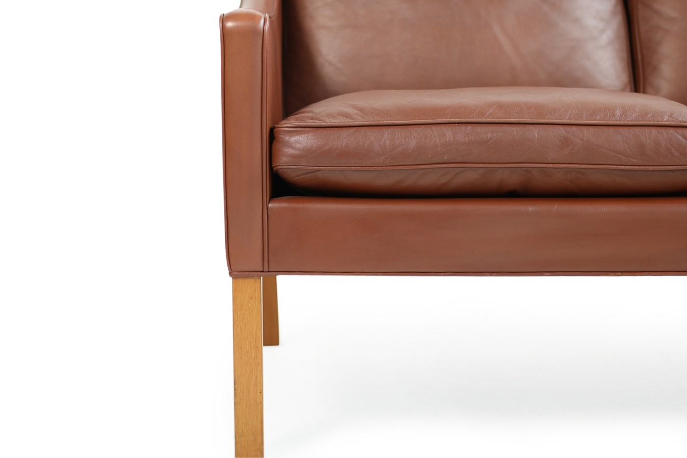 mogensen sofa 2209 cat scratcher protector 1960s borge leather mod by fredericia