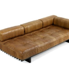 De Sede Sofa Vintage Fl Slipcovers Sold Rare 1970s Ds 80 Daybed Cognac