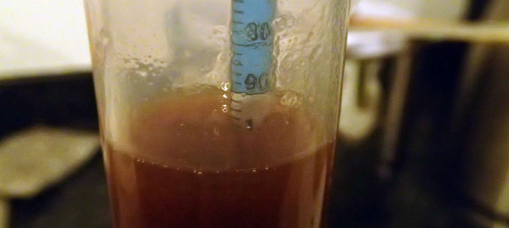 High and solid gravity from the wort
