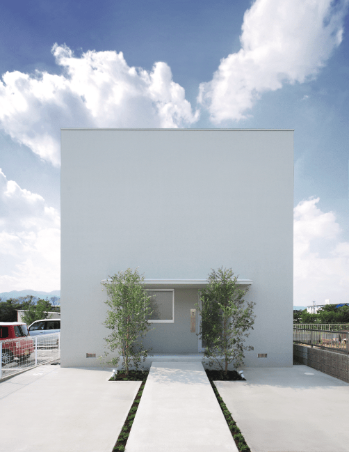 architecture modern house design white cube house l