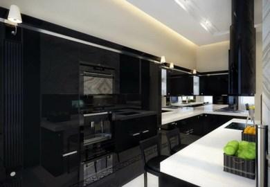 Black Modern Kitchen Designs Homevite