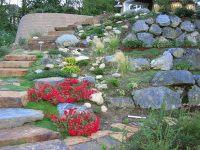 Creating a rock garden design  20 fascinating ideas