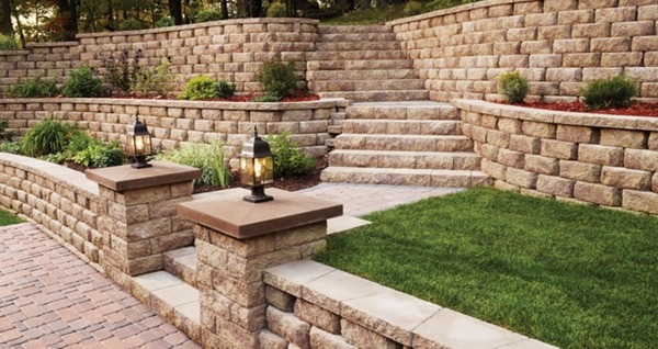 1000 Images About Unique Retaining Wall Ideas On Pinterest