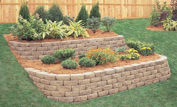 Garden Retaining Wall Ideas block retaining wall retaining and landscape wall cipriano landscape design mahwah nj 90 Retaining Wall Design Ideas For Creative Landscaping