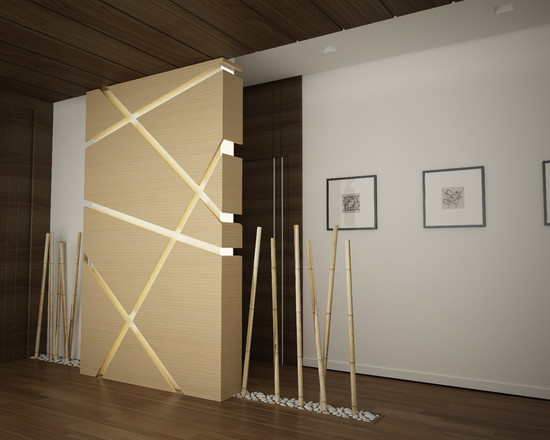 living room vase decoration light hardwood floors 34 ideas for decorative bamboo poles – how to use them ...