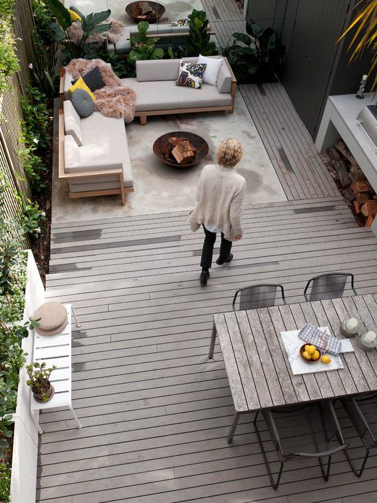 inspiring and modern deck design