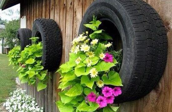 Garden Ideas Using Old Tires modren garden ideas using old tires recycling 22 animalshaped