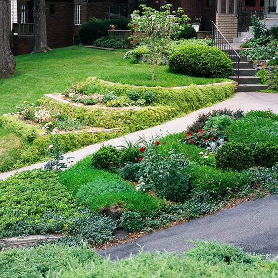 Sloping Garden Ideas And Optimal Solutions For Landscape Design