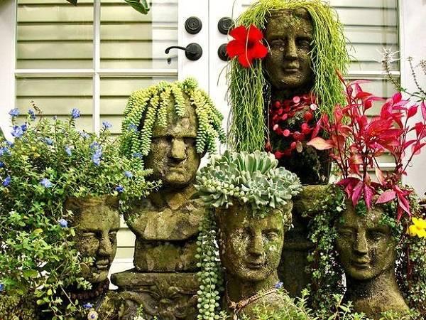 18 Creative Garden Ideas For Used Furniture As Garden Decorations