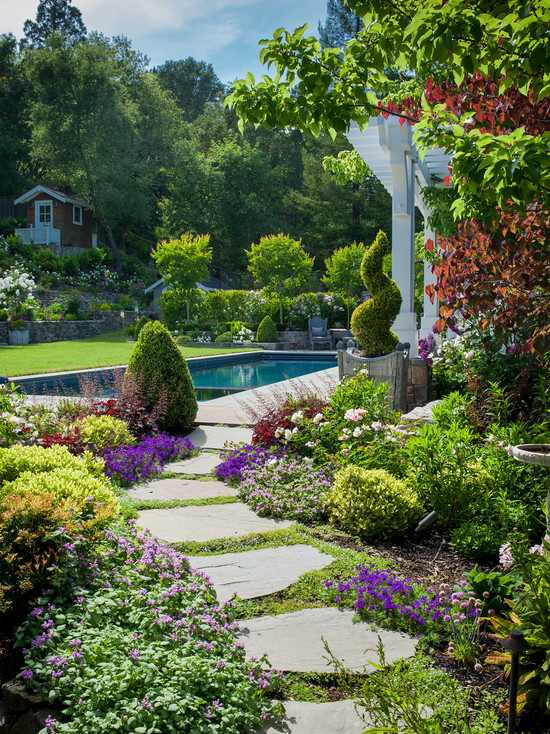 beauty of garden path
